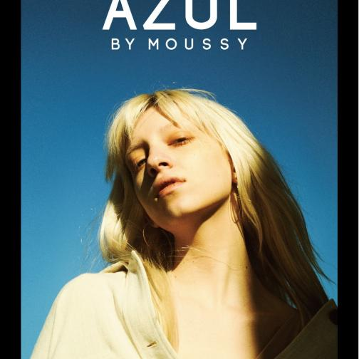 AZUL by moussyのロゴ