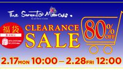 The Sarento Marcus(ザ・サレントマーカス)CLEARANCE SALE開催!