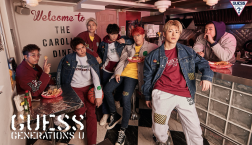 GUESS×GENERATIONS 発売日変更のお知らせ
